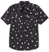 GUESS Short-Sleeve Western Star Print Shirt