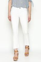 Unpublished White Crop Pants