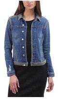 L'Agence Women's Celine Denim Jacket in Authentique