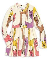 Mini Rodini Toddler's, Little Girl's & Girl's Deer-Print Dress
