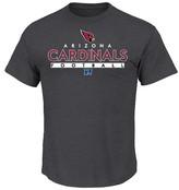 NFL Men's Short Sleeve Charcoal Heather Ring Spun T-Shirt