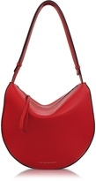 Victoria Beckham Cherry Red Leather Swing Bag