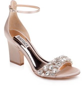 Badgley Mischka Collection Laraine Embellished Ankle Strap Sandal