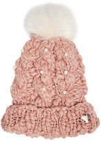 Betsey Johnson Pearly Girl New Cuff Hat