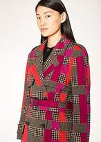 Paul Smith Women's Puppytooth-Check Wool-Blend Coat