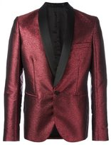 Christian Pellizzari shawl lapel smoking jacket