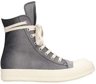 Drkshdw Sneaks Sneakers In Black Canvas