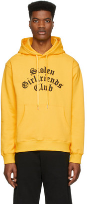 Stolen Girlfriends Club Yellow Arch Gothic Classic Hoodie