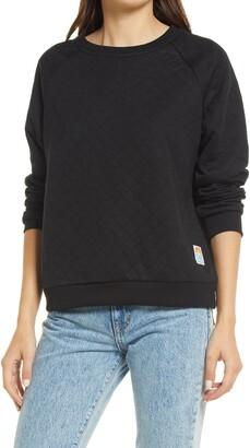 Izzy Quilted Sweatshirt