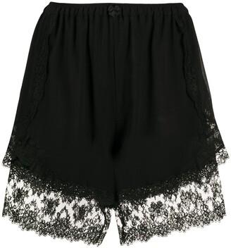 Dolce & Gabbana Lace-Trim Shorts