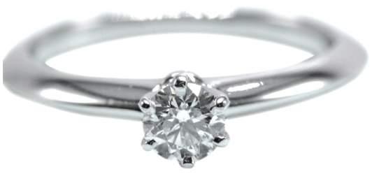 Tiffany & Co. Platinum & 0.25ct Diamond Engagement Ring Size 5