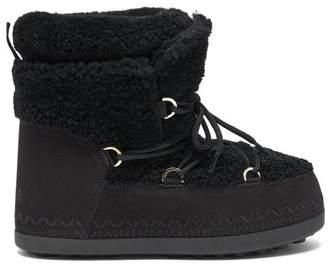 Bogner Trois Vallees 15 Shearling Apres-ski Boots - Womens - Black