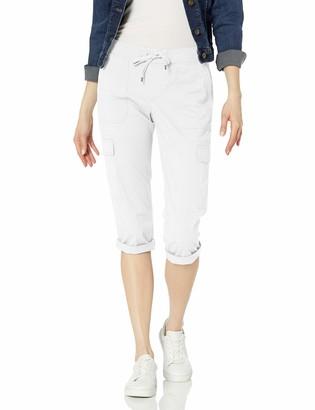 Chaps Women's Cotton Twill Capri Pant