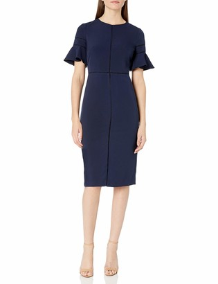 Maggy London Women's Dream Crepe Sheath