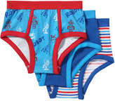 Joe Fresh Toddler Boys' 3 Pack Assorted Briefs, Print 3 (Size 4)