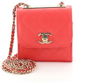 Chanel Trendy CC Clutch with Chain Quilted Lambskin Small