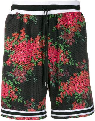 John Elliott floral basket shorts
