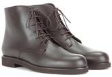 Loro Piana Savile leather ankle boots