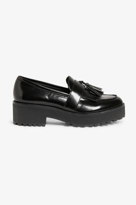 Monki Chunky platform loafers