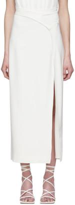 Dion Lee Off-White Interlock Skirt