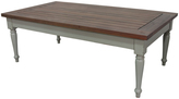 Jeffan Natural & Gray Wash Hutton Coffee Table