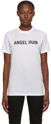 Helmut Lang SSENSE Exclusive White Angel Hum T-Shirt