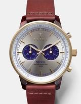Triwa Blue Face Nevil - Cognac Classic