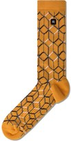 Richer Poorer Orange Glados Athletic Socks