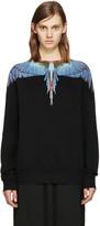 Marcelo Burlon County of Milan Black Tecka Crew Sweatshirt