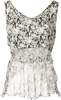 Chanel Pre Owned mademoiselle sleeveless tops