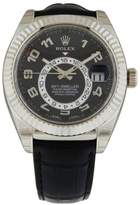 Rolex Sky Dweller Oyster Perpetual 326139 42mm White Gold Watch