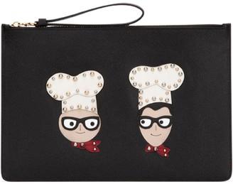 Dolce & Gabbana Embellished Clutch Bag
