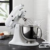 Crate & Barrel KitchenAid ® Artisan White Stand Mixer