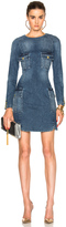 Pierre Balmain Denim Mini Dress