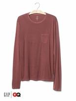 Gap x GQ Steven Alan garment-dyed tee