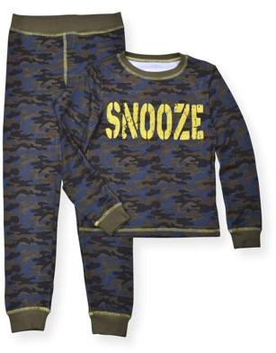 Sleep On It Toddler Boys Long Sleeve Snug Fit Poly Pajamas, 2pc Set (2T-4T)