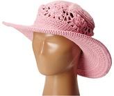 San Diego Hat Company Kids - DL2490 Crochet Brim Macramae Hat Caps