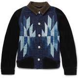 KAPITAL - Chimayo Patchwork Denim and Cotton-Corduroy Jacket