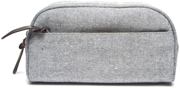 Everlane The Reverse-Denim Dopp Kit