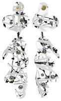 Christopher Kane Crystal-embellished Transparant Earrings