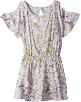 Splendid Littles Cold Shoulder Voile Dress Girl's Dress