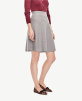 Ann Taylor Solid Sweater Skirt
