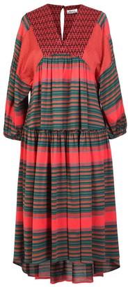 AILANTO Oversize Patchwork Dress