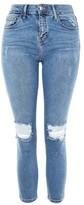 Topshop PETITE Rip Jamie Jeans