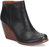 Kork-Ease Natalya Leather Wedge Booties
