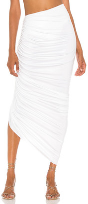 Norma Kamali Diana Long Skirt