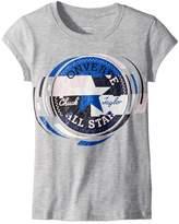 Converse Retro Throwback Chuck Patch Tee Girl's T Shirt