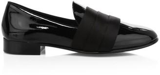 Giuseppe Zanotti Cummerbund Patent Leather Loafers