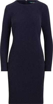 Ralph Lauren Jersey Long-Sleeve Dress