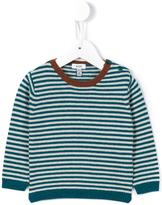 Knot striped sweater